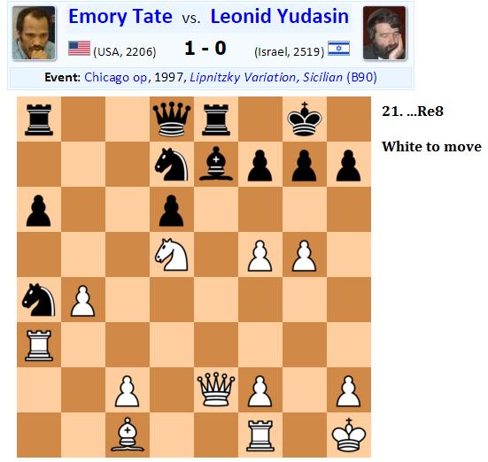 Emory Tate - Leonid Yudasin