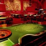 El casino de Peralada, situado en un castillo en la Provincia de Gerona