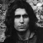 Stefano D'Orazio, cantante dei Pooh, nel 1973