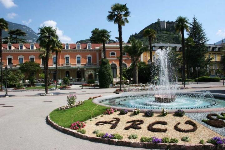 Il Casinò Municipale di Arco che tutti gli anni ospita il festival scacchistico