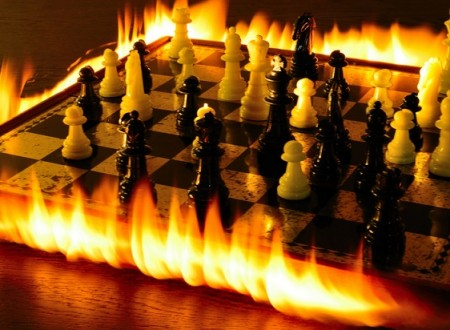 "SIMEONE-CARNICELLI, ""FIRE ON THE BOARD"""