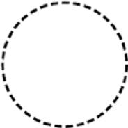 """I punti della circonferenza di un cerchio aperto C sono d'accumulazione per C perchè sono """"a contatto"""" con i punti di C."""