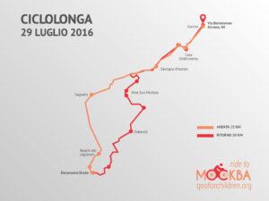 Il percorso della Ciclolonga